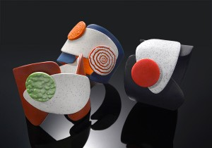 Bettina Welker: Complex construction bracelet / Βραχόλι σύνθετης κατασκευής